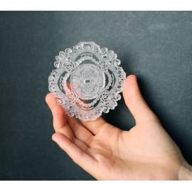 silhouette décorative danseuse crystal acrylique BALLET PAPIER
