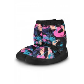 Bottes de chauffe danse BLOCH WARM UP BOOTIE IM009P GRAFFITI