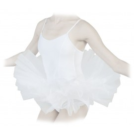 tutu court REPETTO blanc adulte