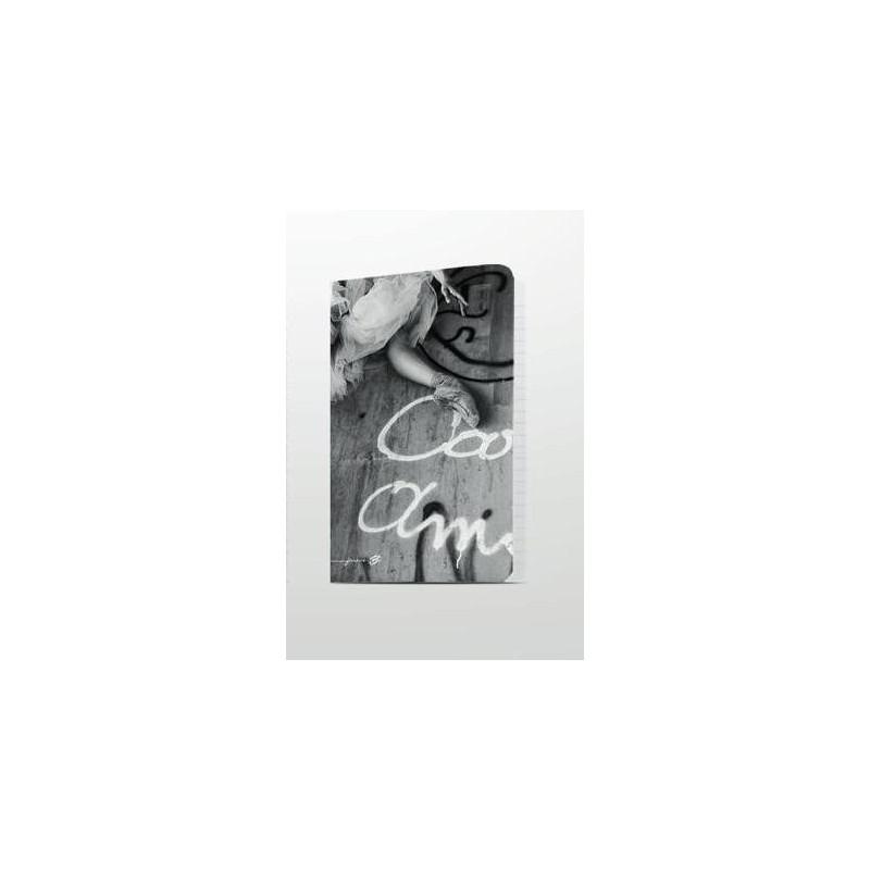 cahier A5 FOREVER B ballerine noir et blanc