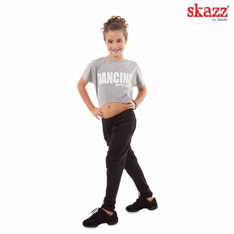 tee-shirt jazz-hip hop SANSHA Dancing In