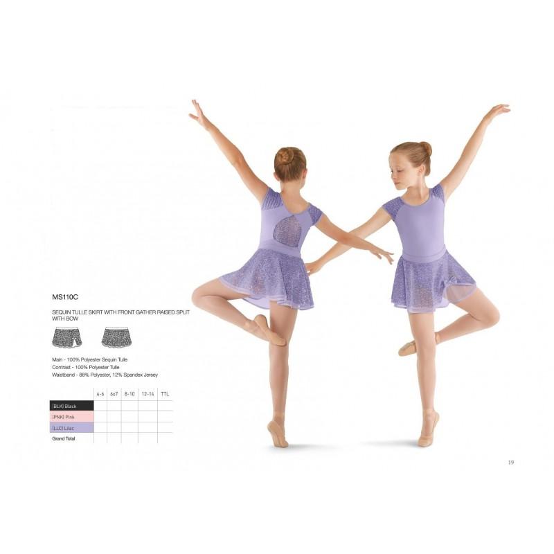 Jupette danse classique bloch mirella ms110c enfant body - Danse de salon enfant ...
