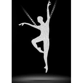 pendentif danseur MIKELART RETIRE FINI DIAMANTE