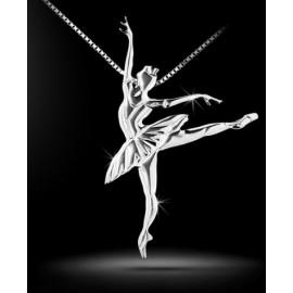 pendentif danseuse MIKELART CASSE-NOISETTE