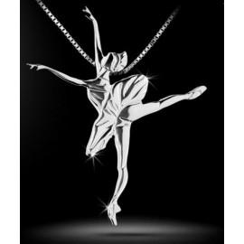 pendentif danseuse MIKELART LE CORSAIRE TUTU