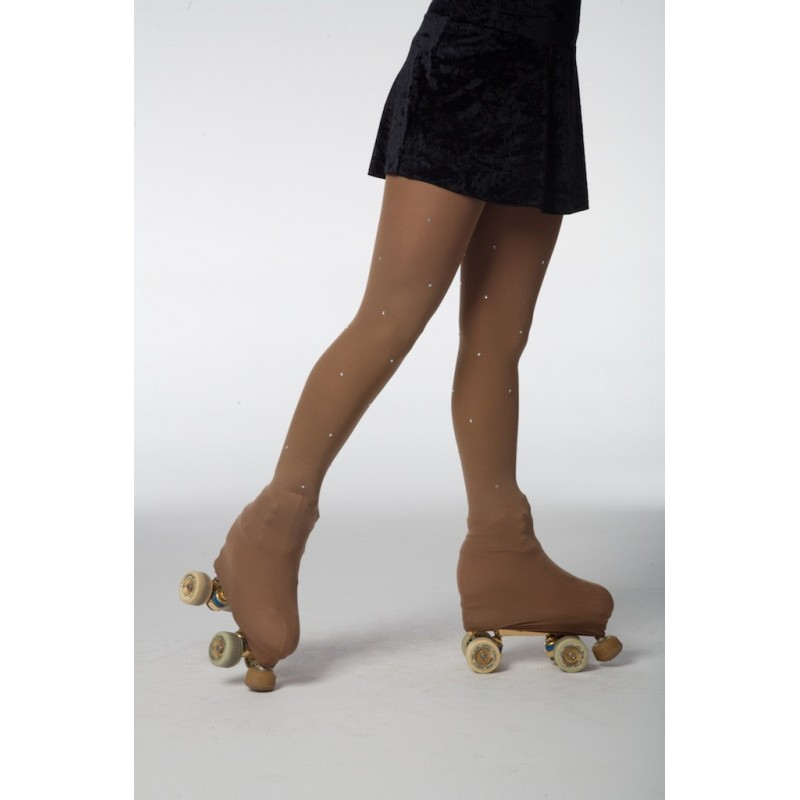 collant de patinage avec strass INTERMEZZO enfant - BODY LANGAGE 13e0daa2517