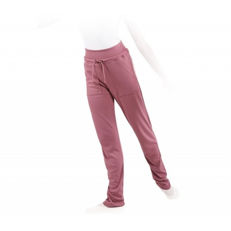 pantalon danse REPETTO échauffement rose satin - BODY LANGAGE df2e0bccd06
