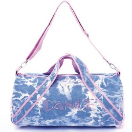 sac de danse DASHA DESIGNS Denim Duffle
