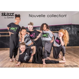 tee-shirt jazz-hip hop SANSHA Skazz enfant