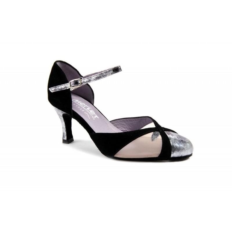 chaussures de danse de salon MERLET NEMY 1404-001 FEMME
