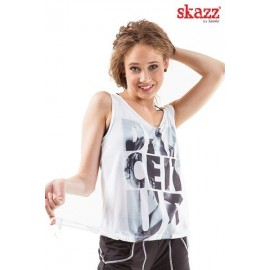 tee-shirt jazz-hip hop SANSHA Dance It Up adulte