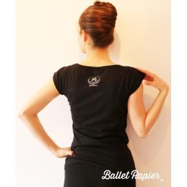 tee-shirt BALLET PAPIER Kitri
