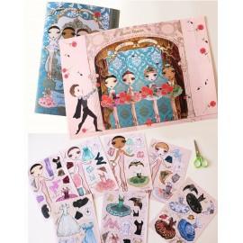 figurines BALLET PAPIER paper dolls