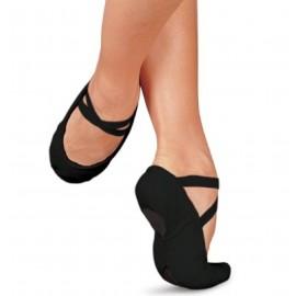 chaussons de danse demi-pointes SANSHA PRO1C noir