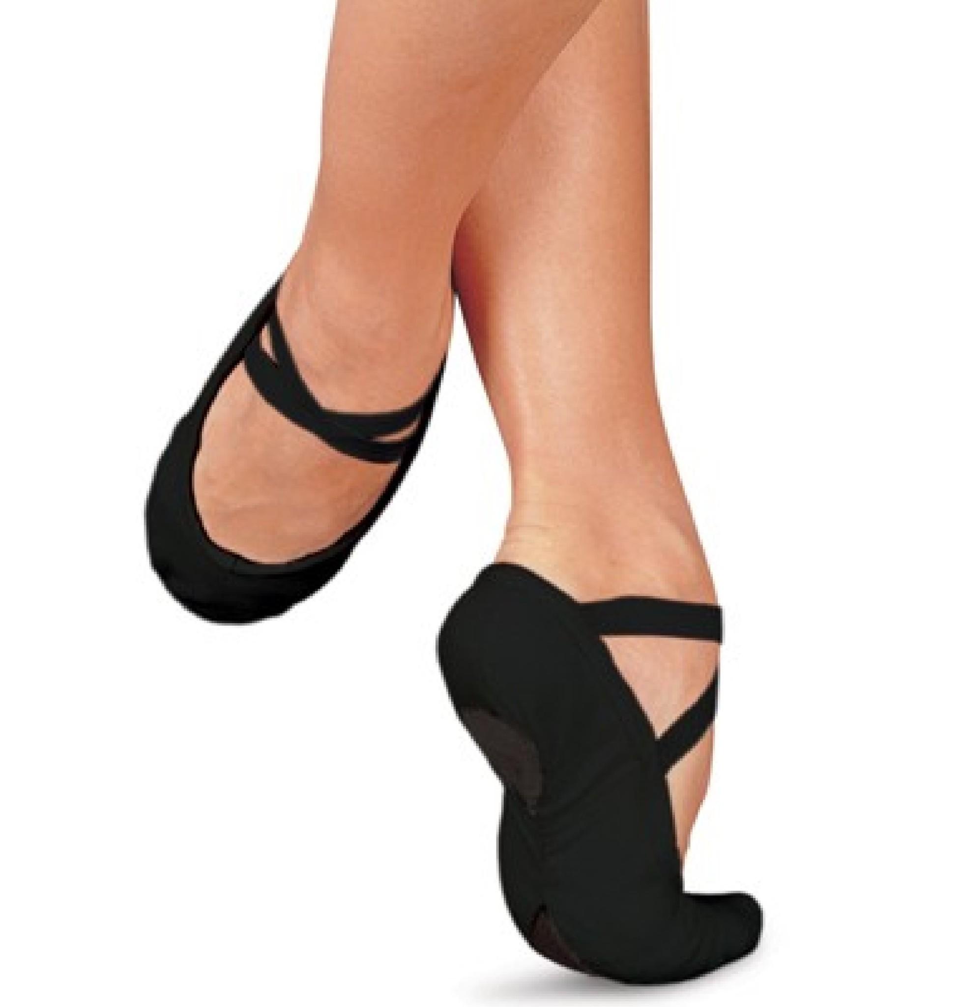 Demi pointes de danse classique SANSHA PRO1C noir