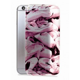 Coque iphone 7 chaussons roses FOREVER B