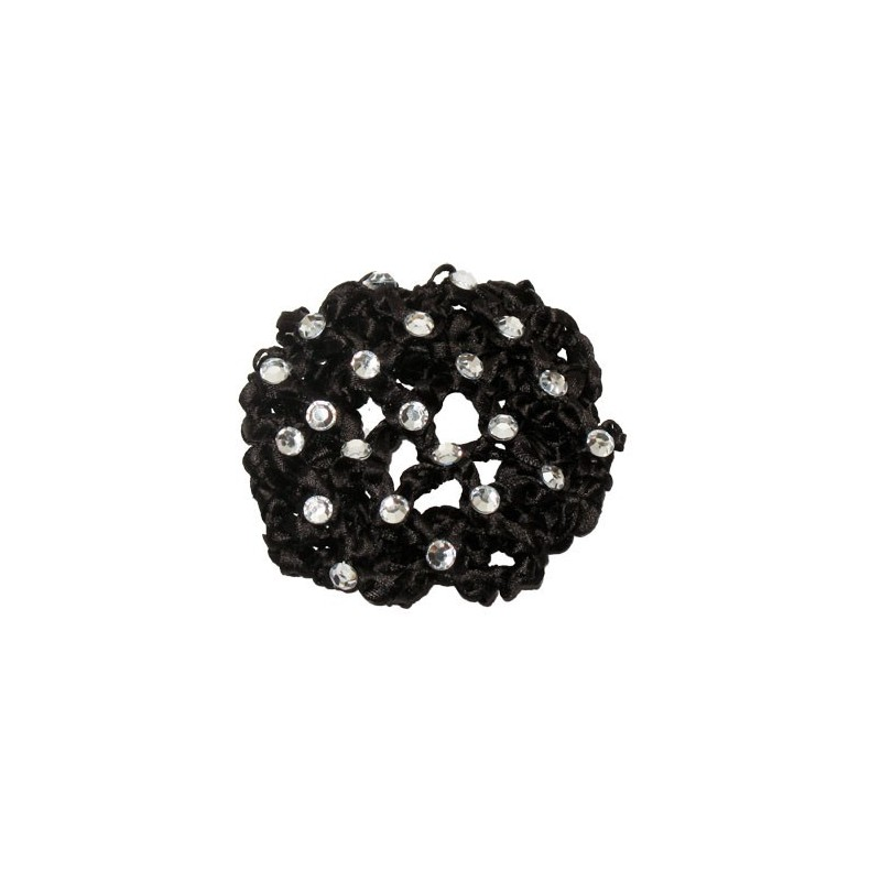 cache-chignon crochet strass DASHA DESIGNS petit modèle