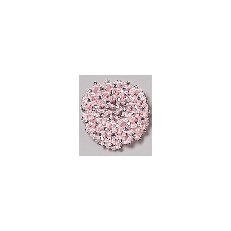 cache-chignon crochet strass DASHA DESIGNS grand modèle