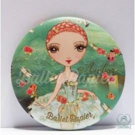 miroir de poche BALLET PAPIER Ballet Etoiles