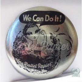 miroir de poche BALLET PAPIER We Can Do It