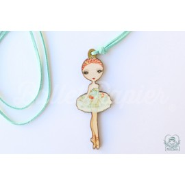 pendentif danseuse BALLET PAPIER Ballet Etoiles