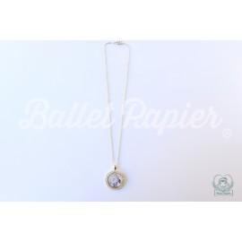 pendentif danseuse BALLET PAPIER cristaux