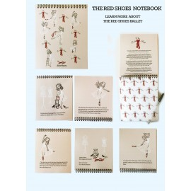 carnet de notes BALLET PAPIER The Red Shoes