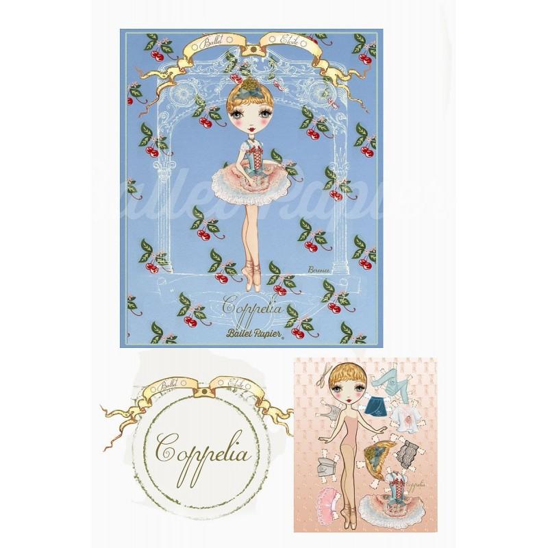 carnet de notes BALLET PAPIER Ballet Etoiles