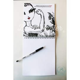 carnet de notes BALLET PAPIER We Can Do It