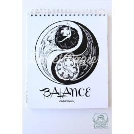 carnet de notes BALLET PAPIER Balance