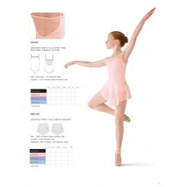 jupette danse classique BLOCH MIRELLA MS115C enfant