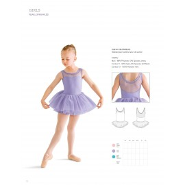 Tutu BLOCH BLONDELLE CL8145 enfant fantaisie