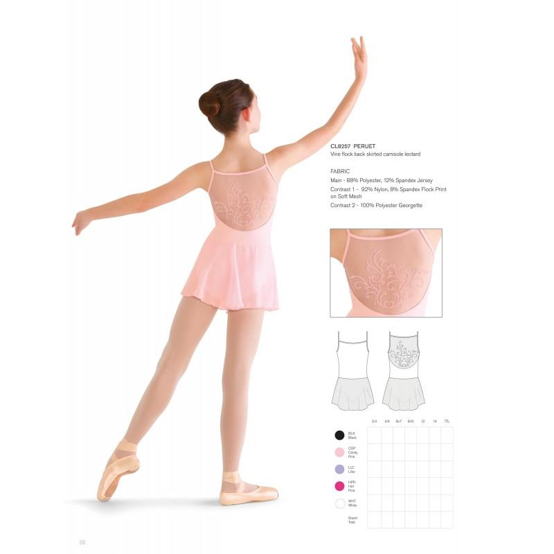 Tunique danse classique bloch peruet cl8257 enfant body - Danse de salon enfant ...