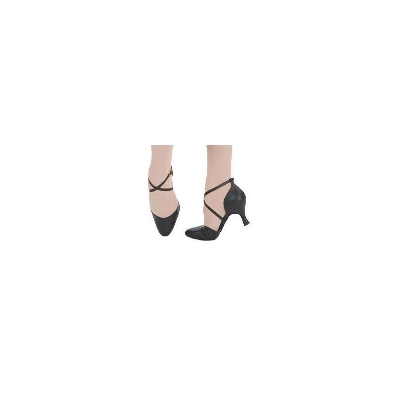 Chaussures de danse de salon capezio x strap pump femme body langage - Chaussures de danses de salon ...