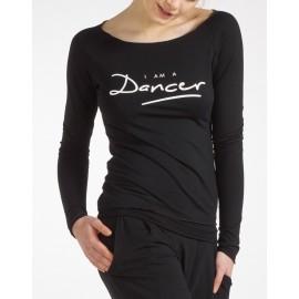 tee-shirt manches longues TEMPS DANSE AMAN DANCER