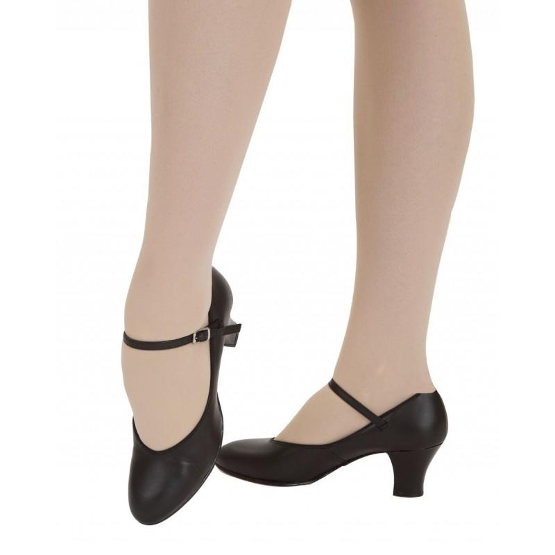 chaussures danse de caract re capezio 650 body langage. Black Bedroom Furniture Sets. Home Design Ideas