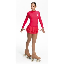 justaucorps patinage INTERMEZZO fuschia 31142