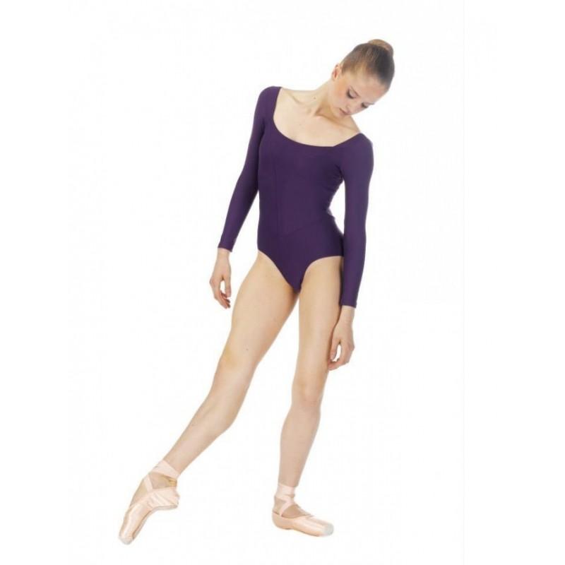 Justaucorps danse freed attitude delia adulte body langage for Danse classique adulte