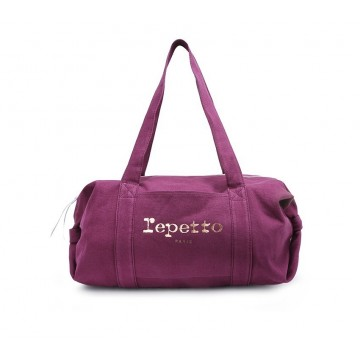 sac de danse REPETTO Polochon Moyen Glide violet patchouli