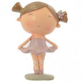 Figurine jeune ballerine DASHA DESIGNS jambes jointes