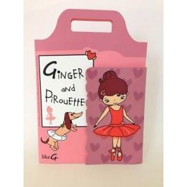 livre jeu enfant danseuse LIKEG Ginger et Pirouette