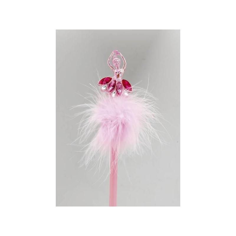 stylo danseuse KATZ ballerine rose