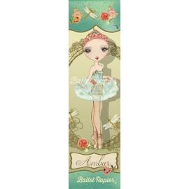 marque pages BALLET PAPIER Ballet Etoiles