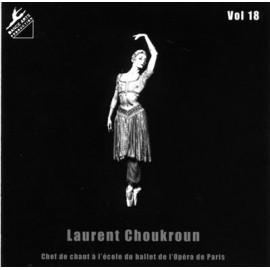 CD Laurent Choukroun Volume 18 Intermédiaire à Avancé