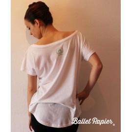 tee-shirt BALLET PAPIER Black Swan