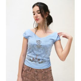 tee-shirt BALLET PAPIER Pavlova The Legend