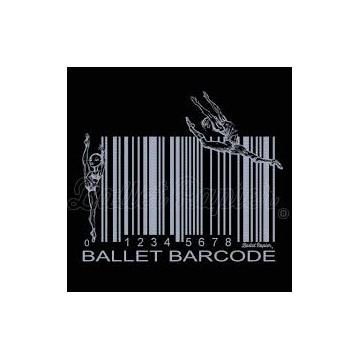 crop top BALLET PAPIER Ballet Barcode