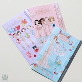 silhouettes BALLET PAPIER paper dolls