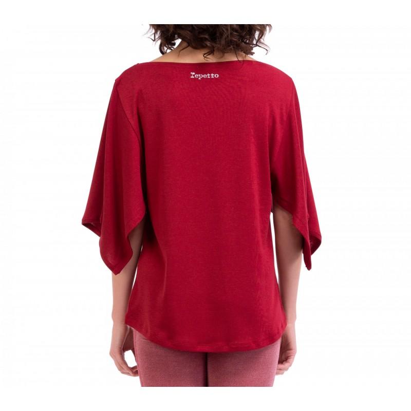 tee-shirt REPETTO plissé