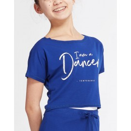 t-shirt court danse TEMPS DANSE AGILE I AM adulte